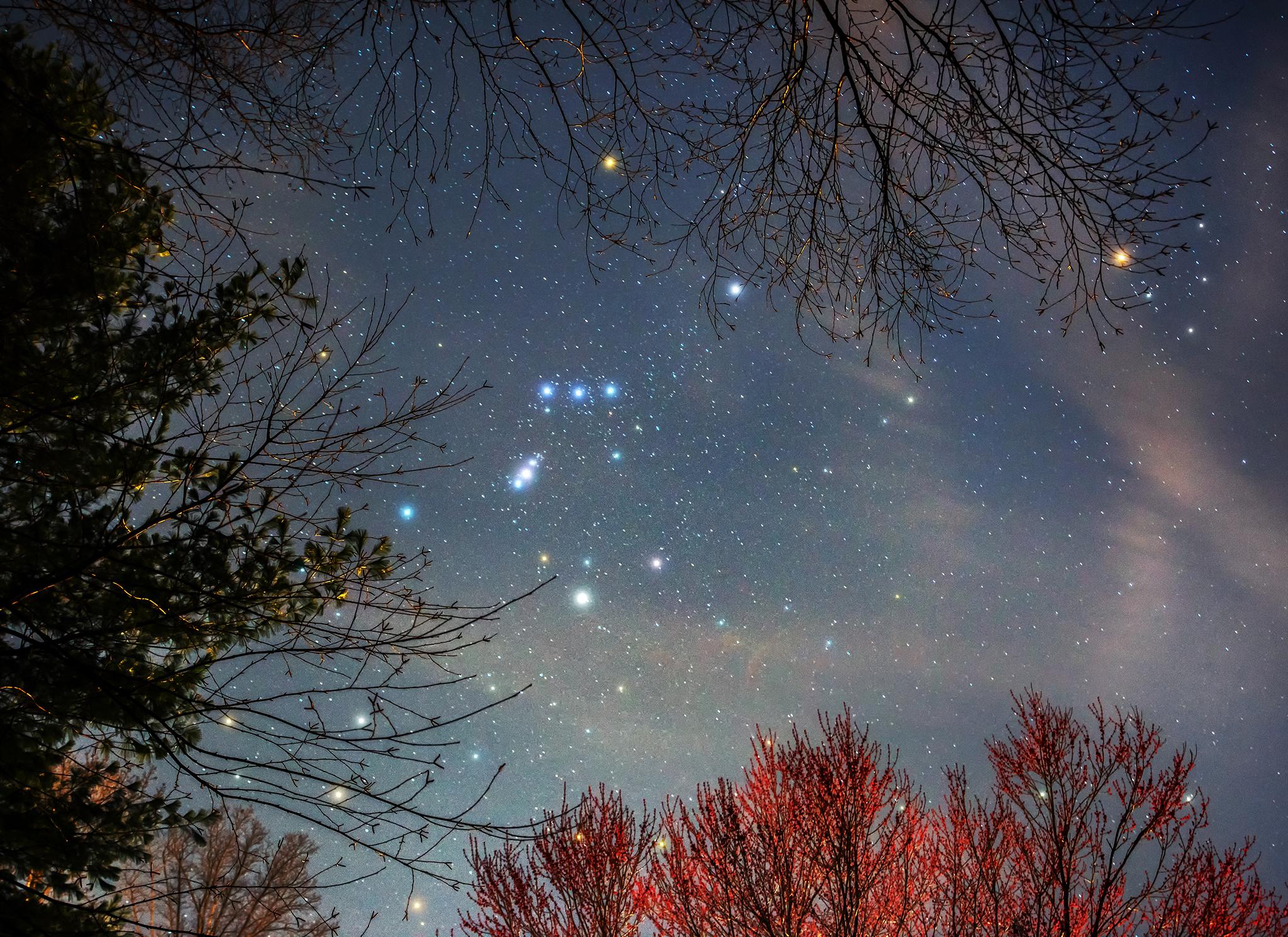 Viaggio nella costellazione di Orione