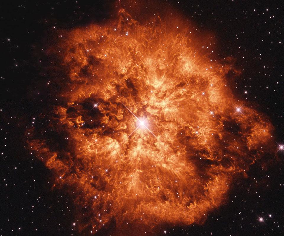 Stelle di Wolf-Rayet: luminose ma invisibili