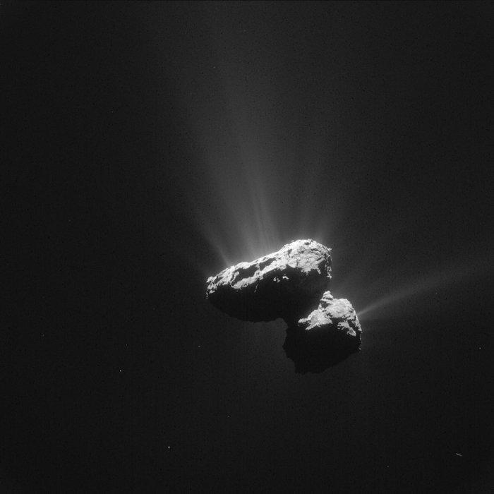 Rosetta chiude il dibattito sul ghiaccio delle comete