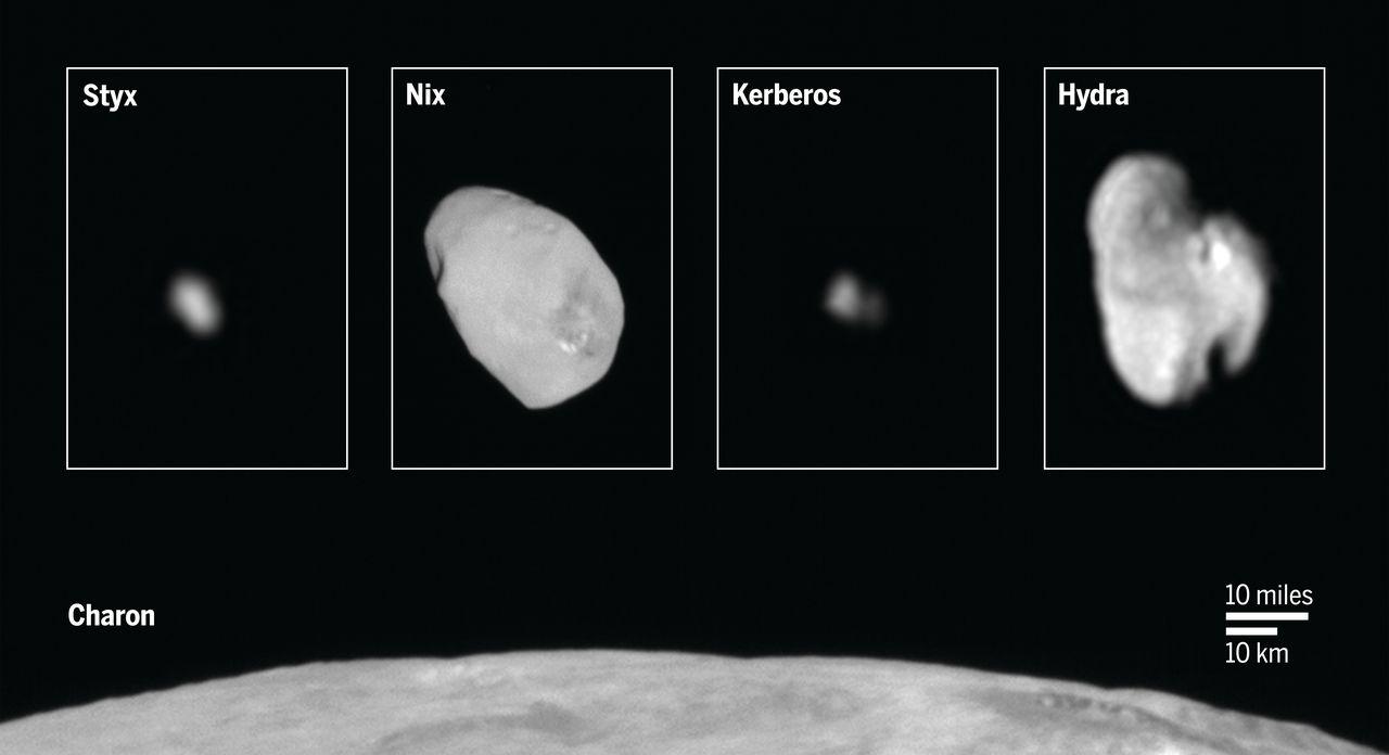 Plutone sotto i riflettori – Parte II: i piccoli satelliti