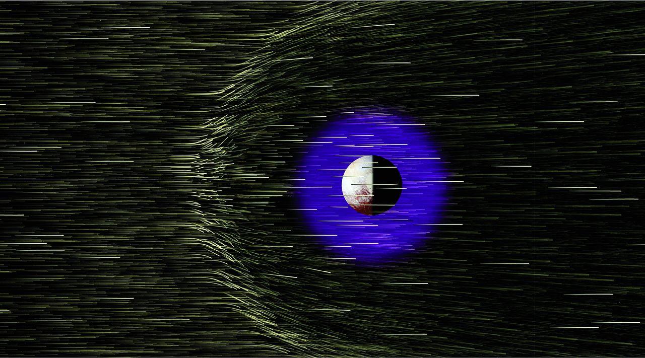 Plutone sotto i riflettori – Parte IV: i venti solari