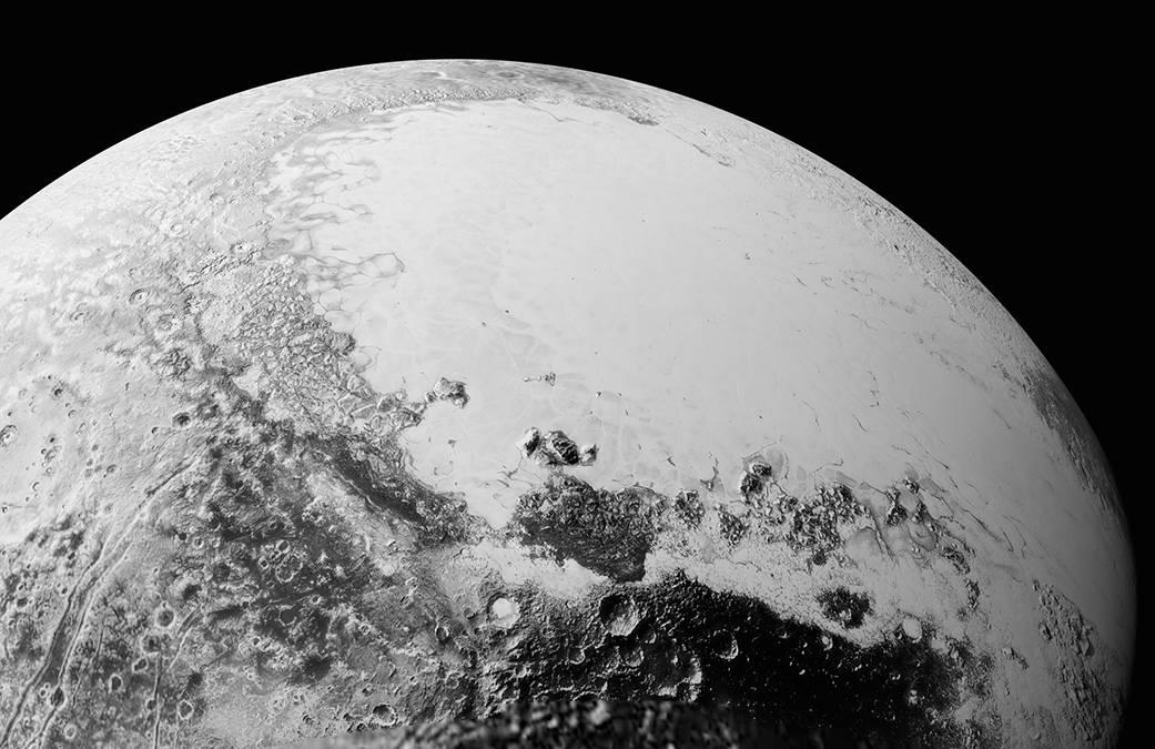 Particolare di Plutone, Sputnik Planum