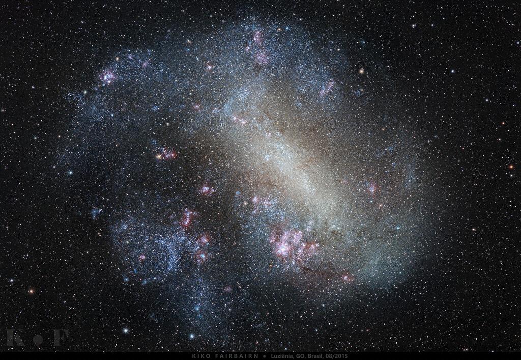 Scoperta galassia nana attorno alla Via Lattea
