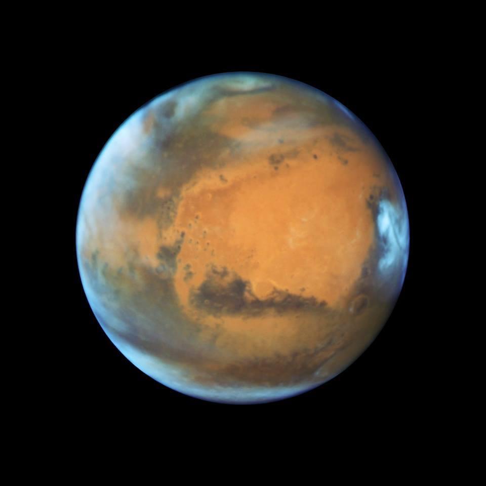 6 GIF che parlano della meteorologia di Marte
