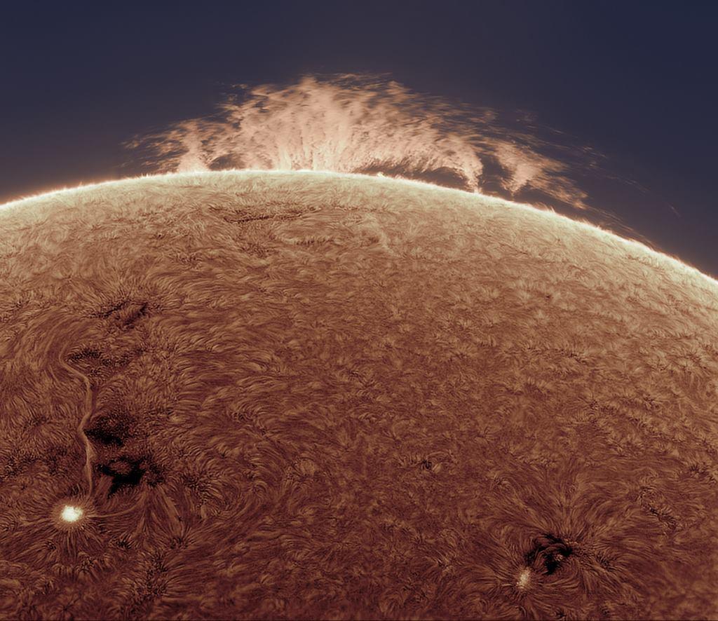 Le 365 foto del Sole nel 2016