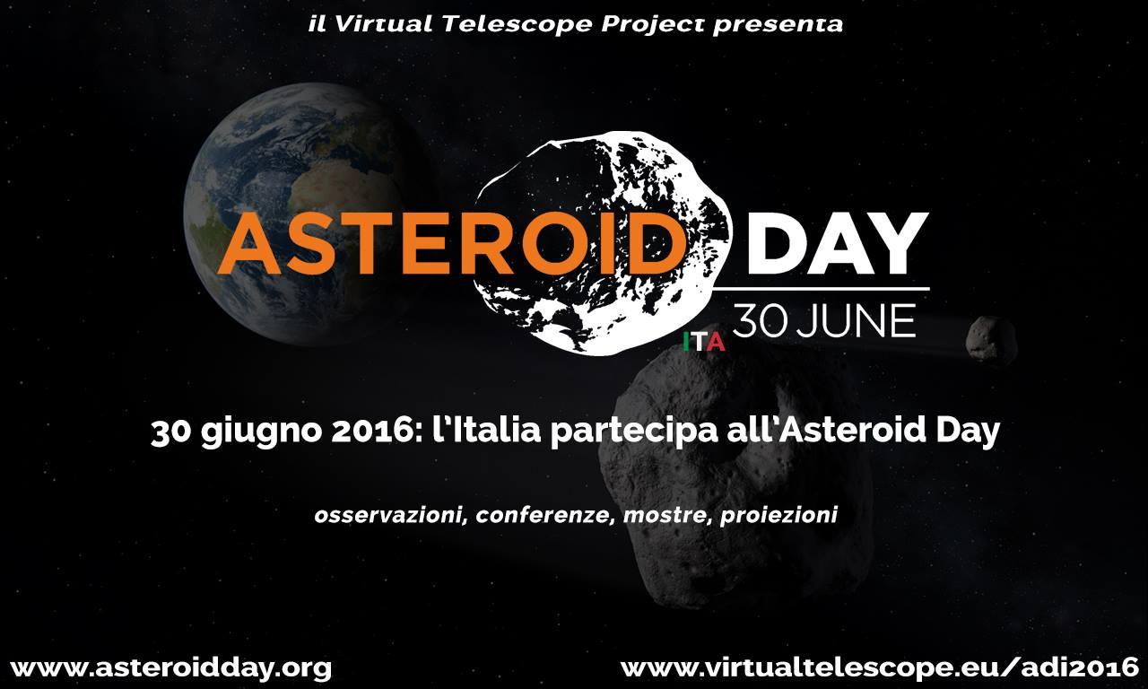L'Asteroid Day 2016 sbarca anche in Italia