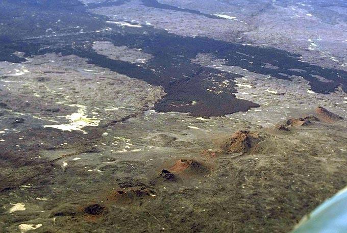 eruzione lineare tra erta ale e Hayli gubbi