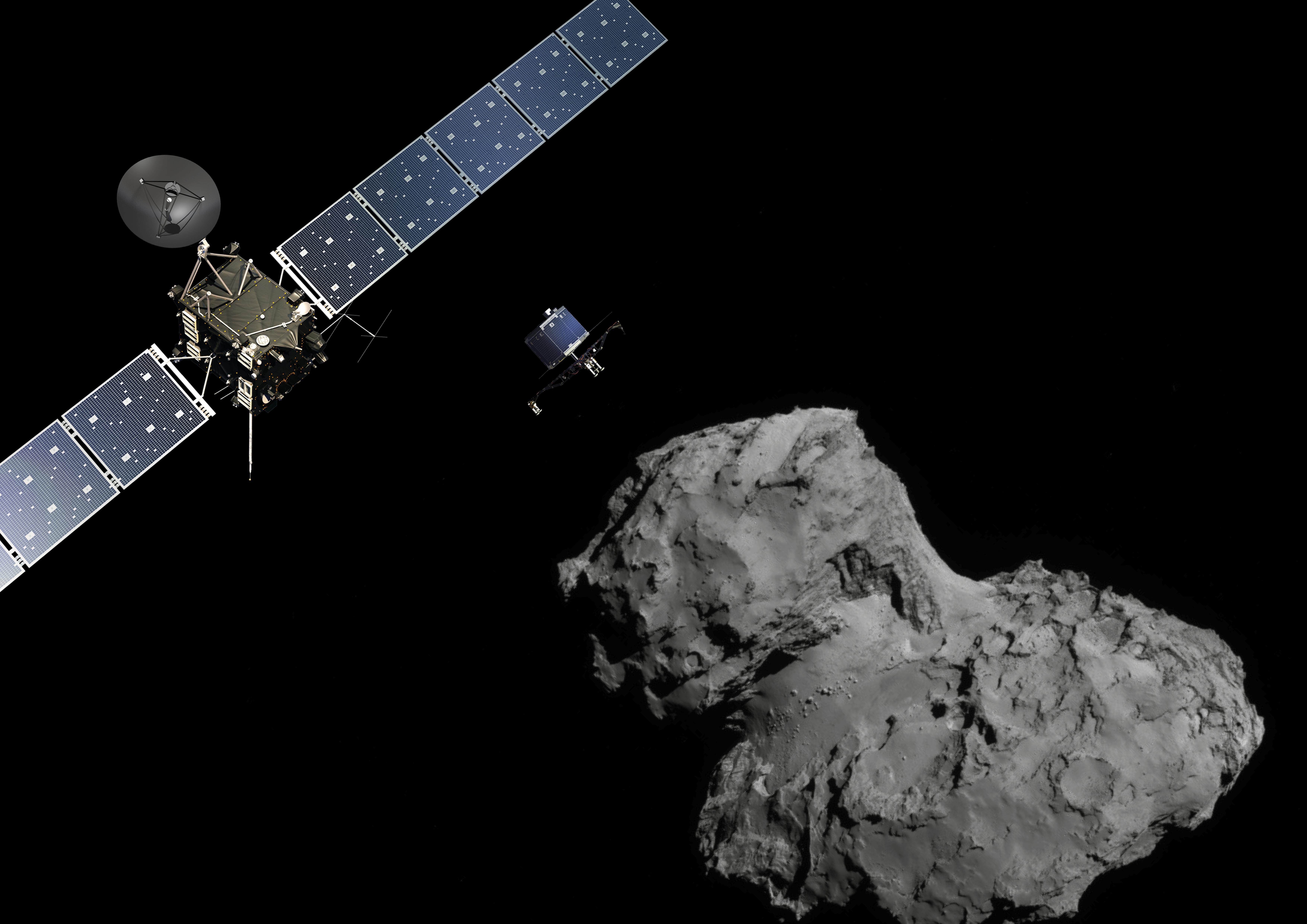 La fine programmata di Rosetta