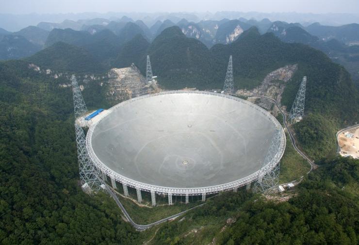 Il radiotelescopio cinese FAST entra in funzione