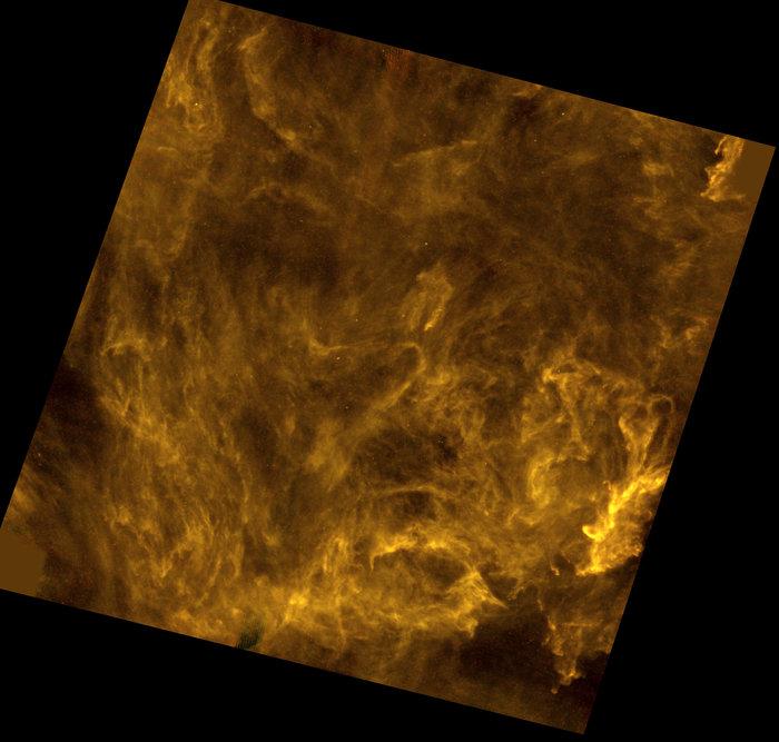 Polaris Flare: un grattacapo cosmico fotografato da Herschel