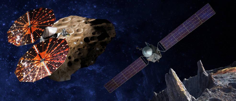 Lucy e Psyche: 2 nuove missioni NASA per lo studio degli asteroidi