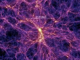"""""""Osservata"""" la ragnatela di materia oscura che connette le galassie"""