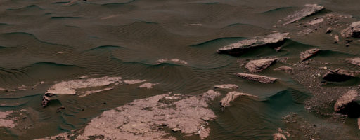 Curiosity ha campionato una duna lineare marziana