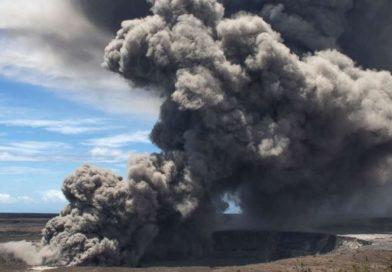 Hawaii: esploso il vulcano Kilauea