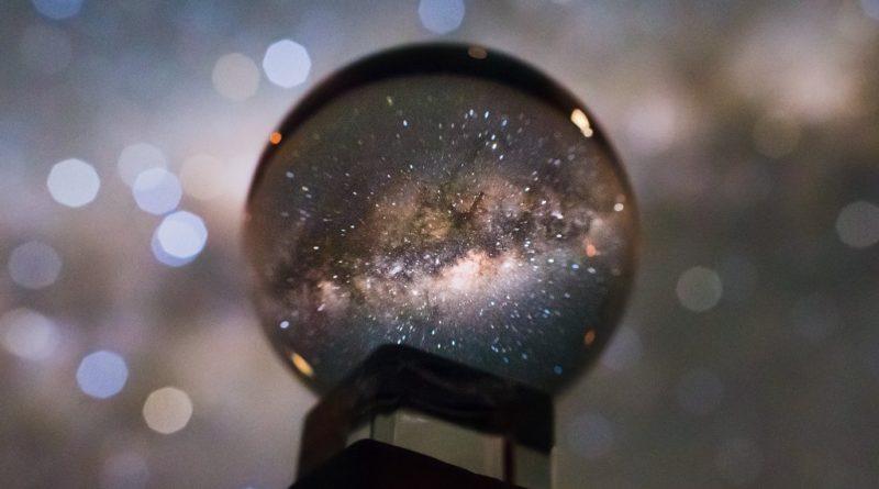 La galassia in una palla di vetro