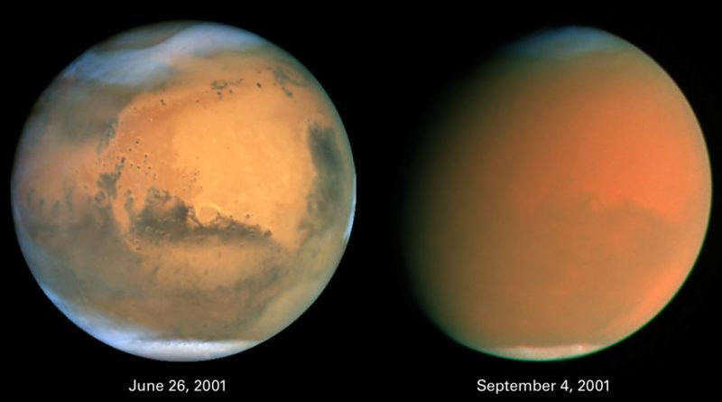 Oggi come nel 2001, una GDS su Marte
