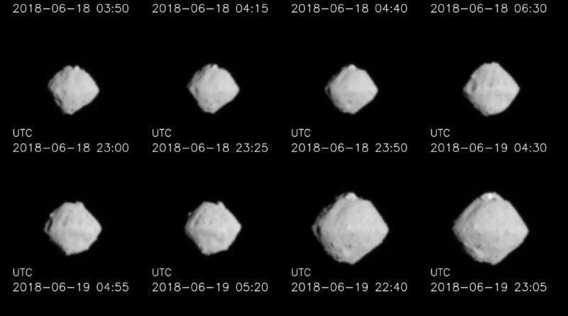 Hayabusa2 si avvicina all'asteroide Ryugu