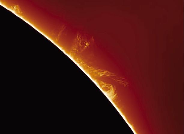 La turbinosa danza del plasma solare