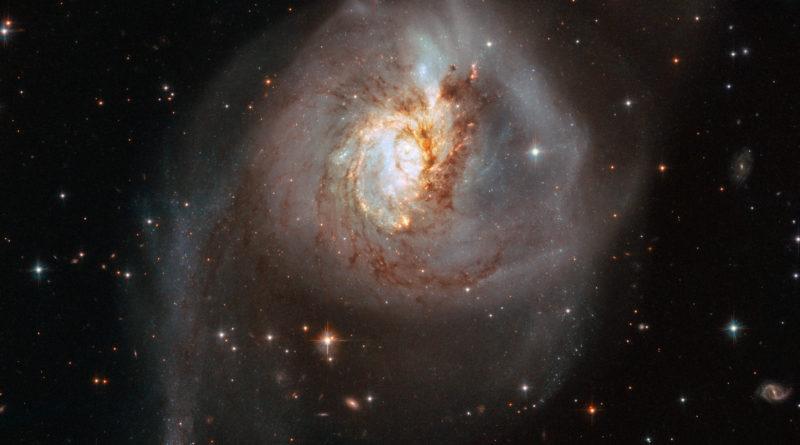 L'incontro di NGC 3256
