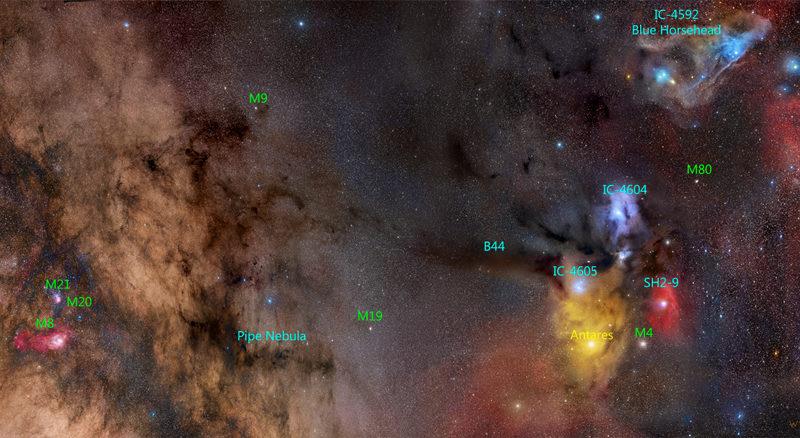Dal piano galattico, passando per Antares..con amore!