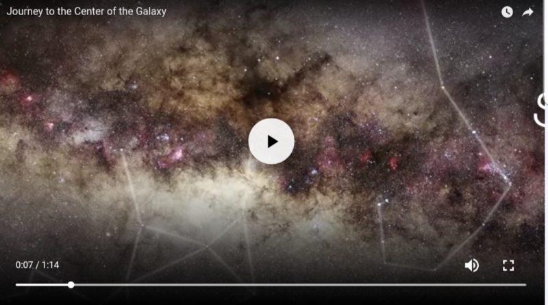 Viaggio verso il centro galattico