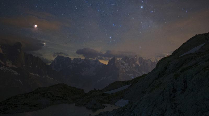 Luna, Marte, Alpi e