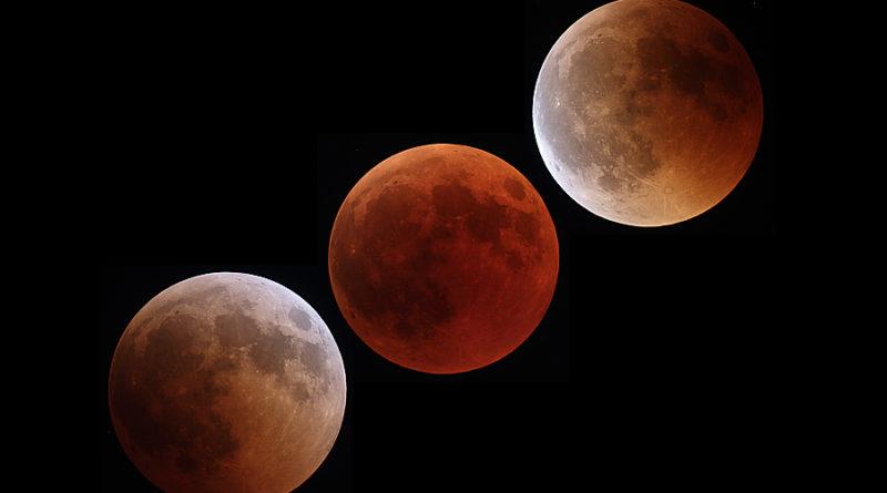 3 scatti che raccontano l'eclissi