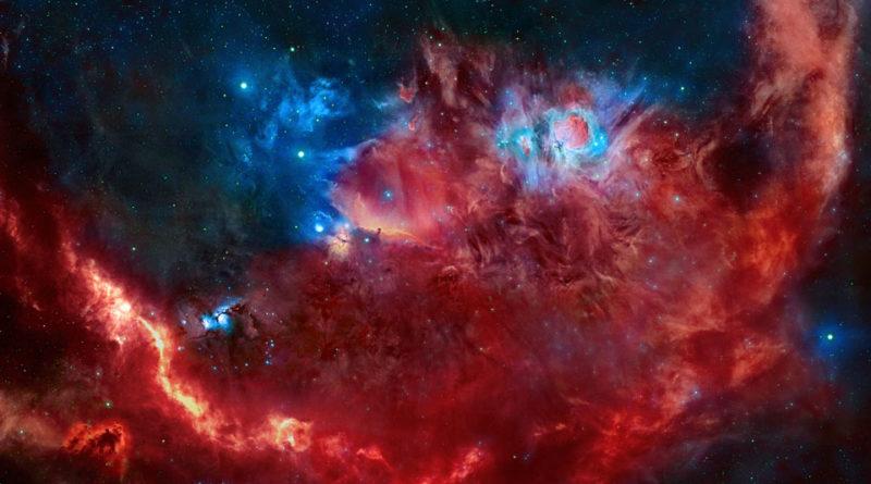 Orione in Rosso e Blu