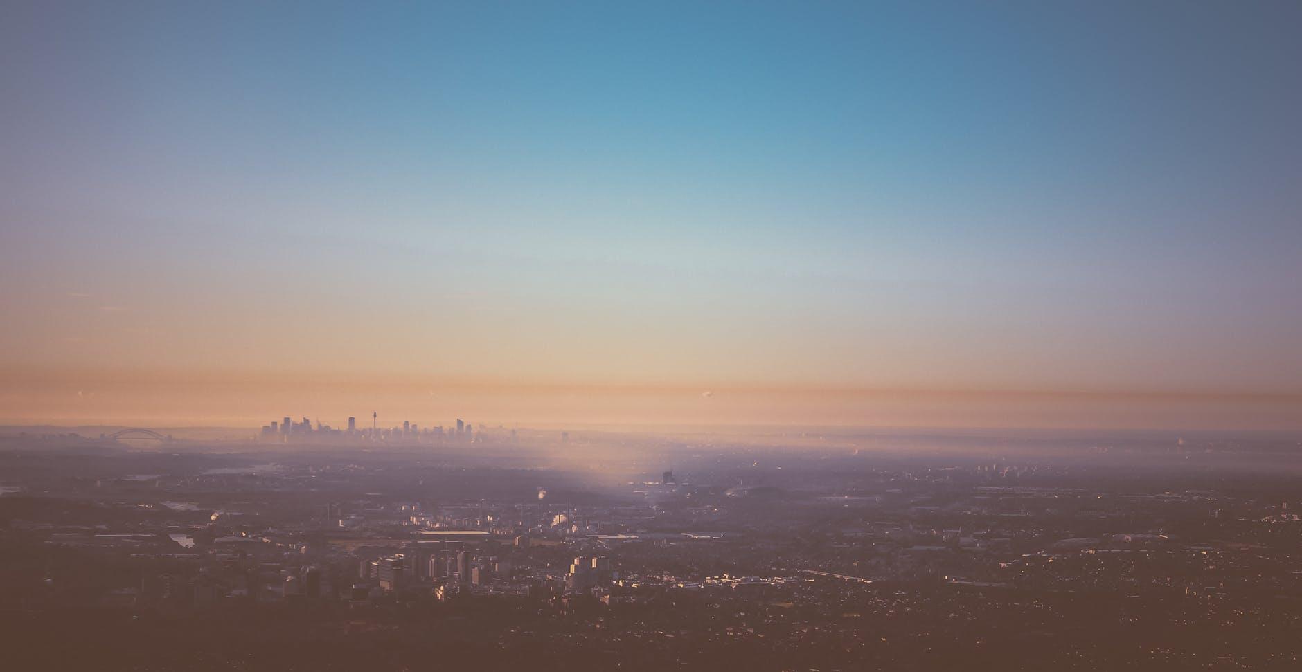 city sky skyline australia