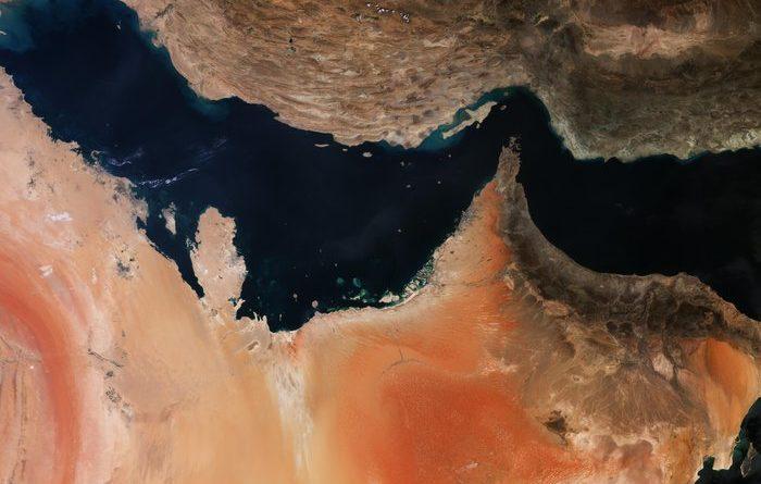 Il Golfo Persico dal Sentinel-3A
