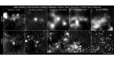 Le sosia di Eta Carinae