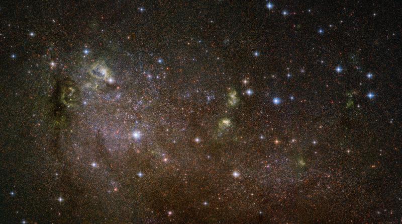 L'esplosione di stelle in IC 10