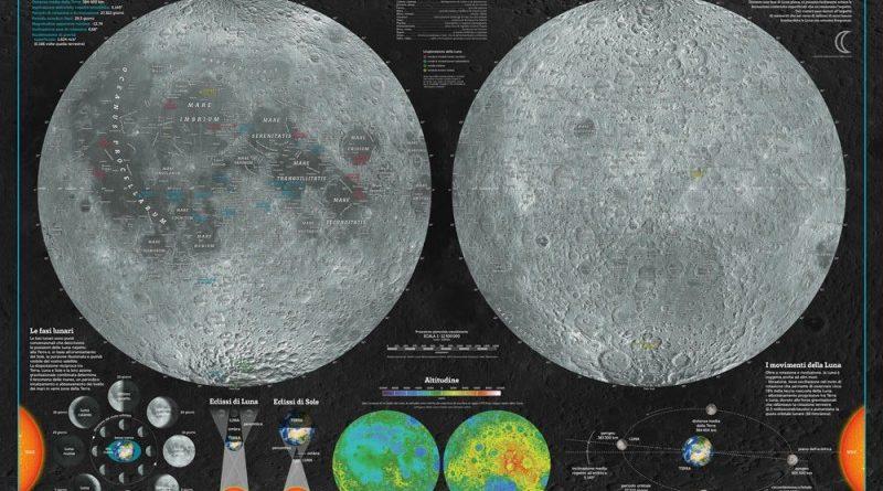 La mappa della Luna e di Marte Geo4map – Recensione