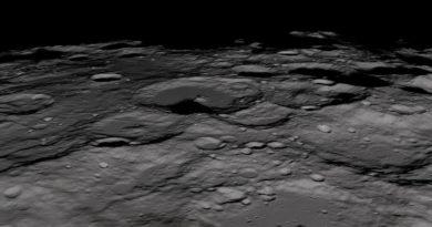 Ghiaccio recente nei crateri lunari