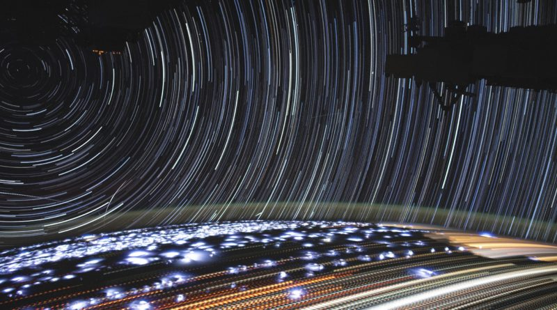Uno star trail come pochi