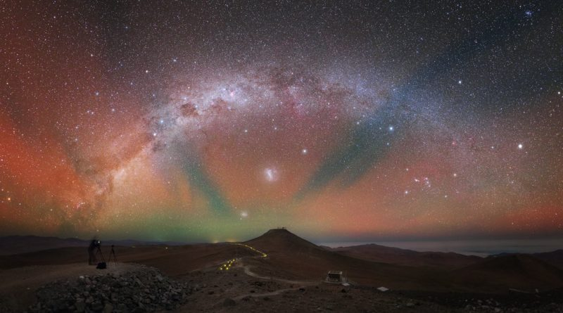 Airglow sul Paranal