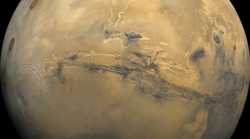 Marte ha una cicatrice