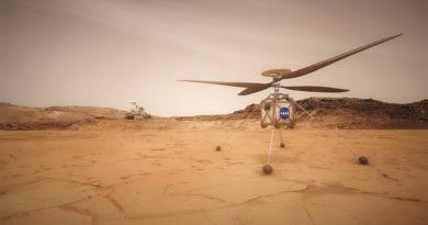 Ci vuole Ingegnosità per volare su Marte